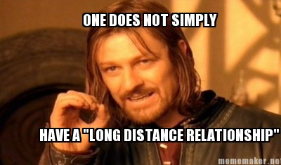 long distance relationship with ex boyfriend