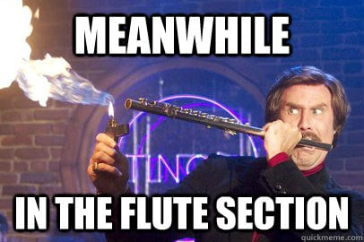 flutes section