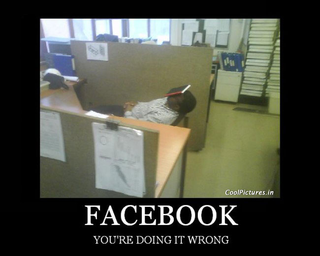 facebook your doing it wrong