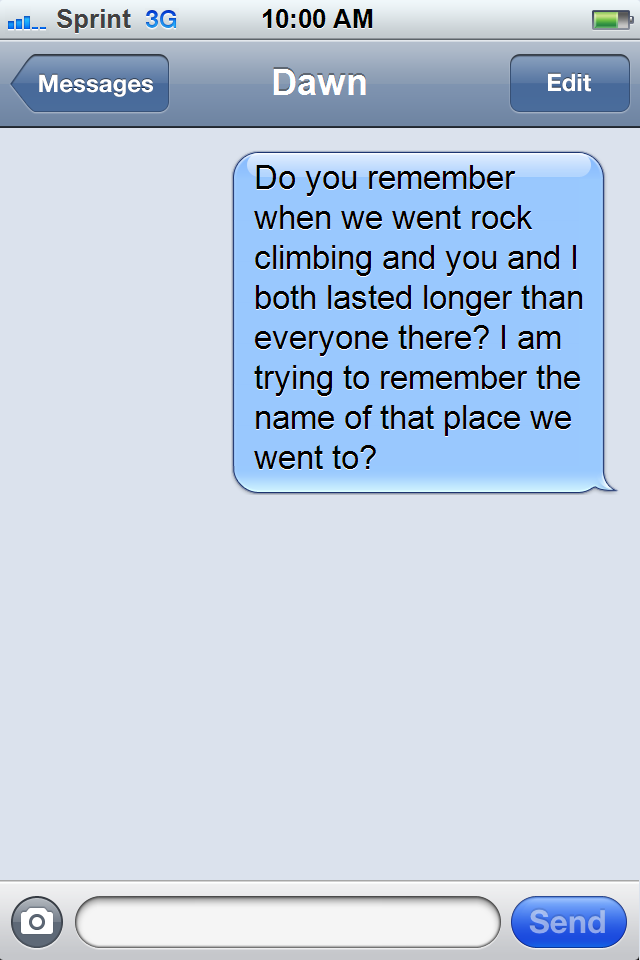 remember when text