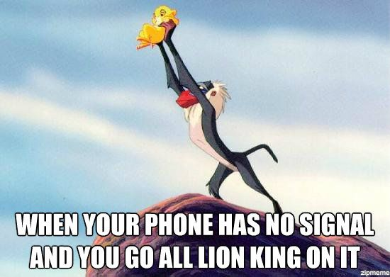 phone lion king