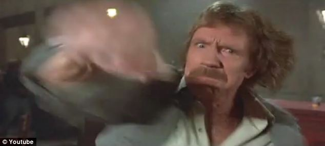chuck norris punch