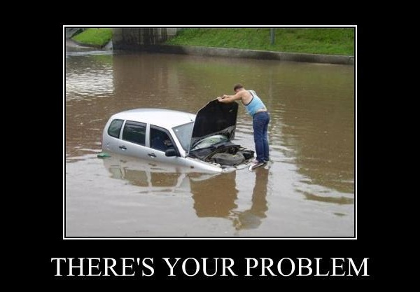 theres your problem