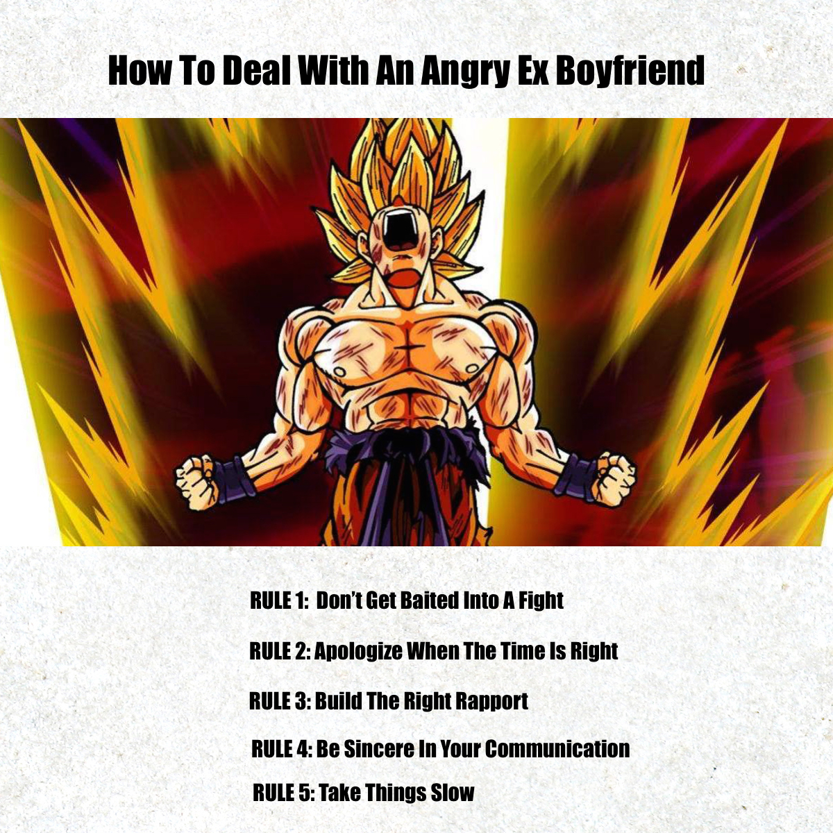 How To Deal With An Angry Ex Boyfriend