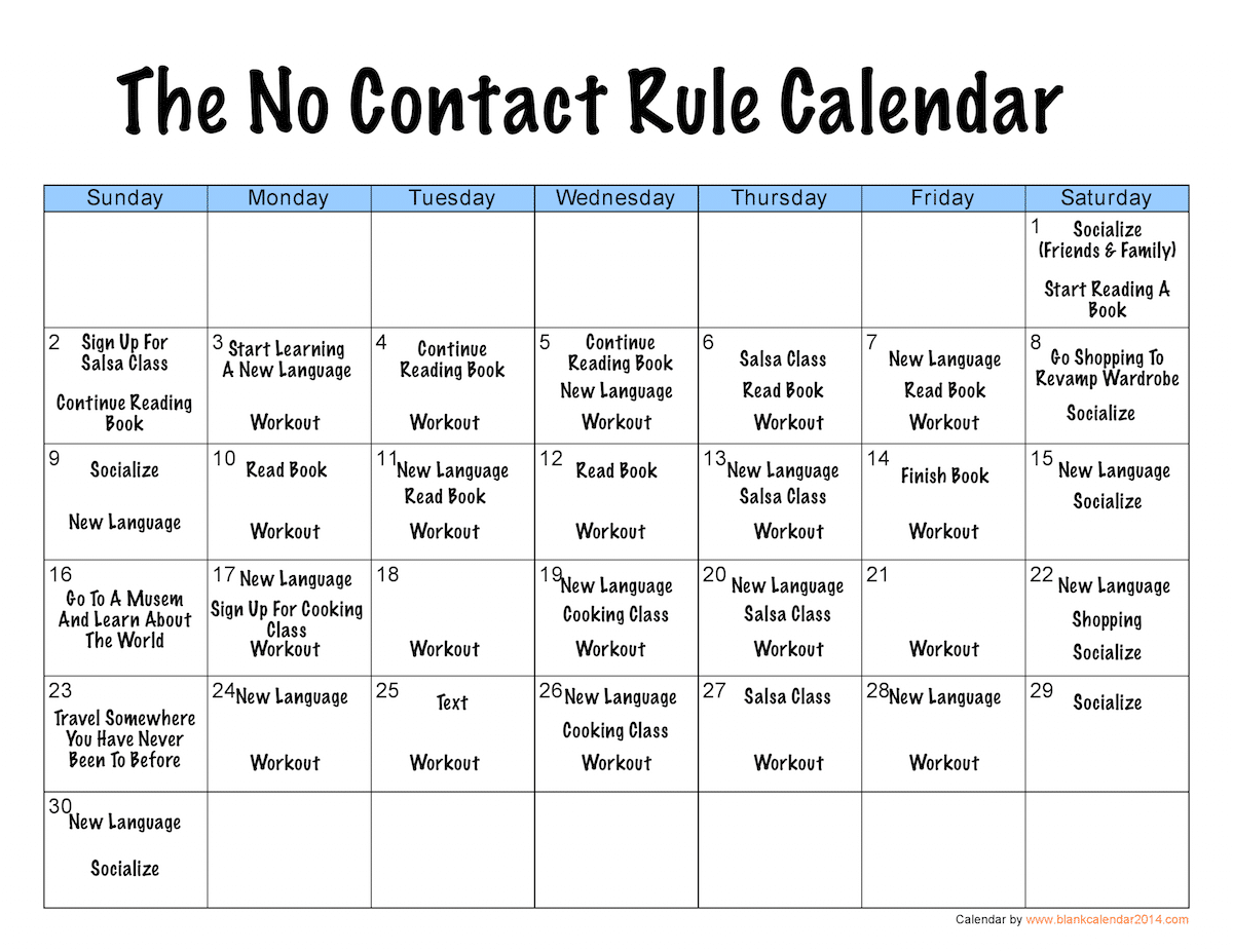 The No Contact Rule (Version 2 0) - Ex Boyfriend Recovery