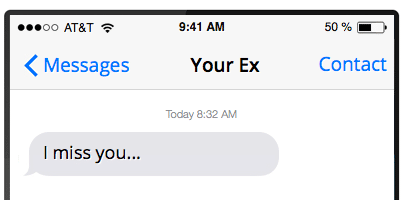What Does It Mean When My Ex Randomly Texts Me?- The Definitive Guide