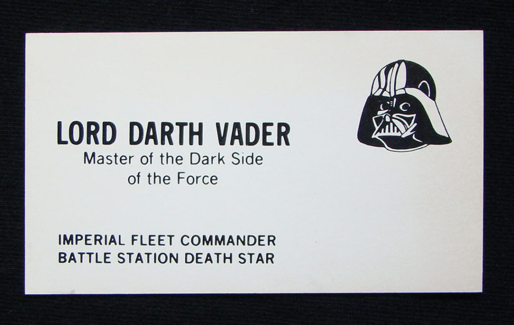 star wars card