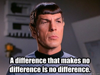 differences spock