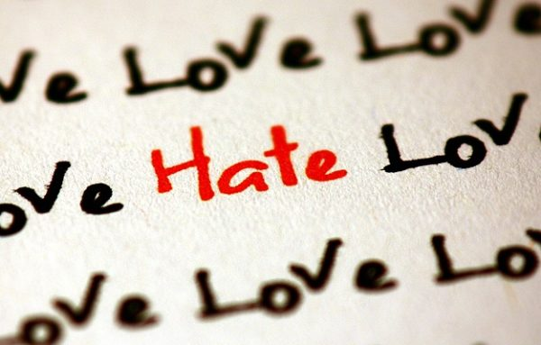 love endures and hate dies off